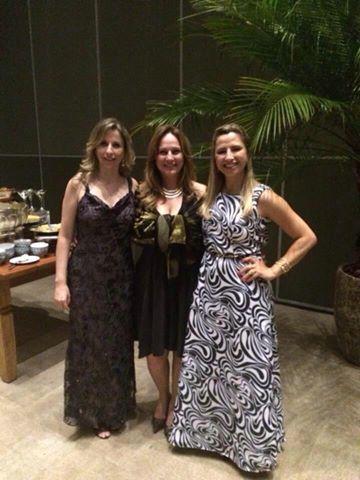 Evento Top Lojas e Top Profissionais, promovido pela ArqArt e Programa Forma: Paula Martucci e Viviane Martini (PerSolutio) com Adriana Dib