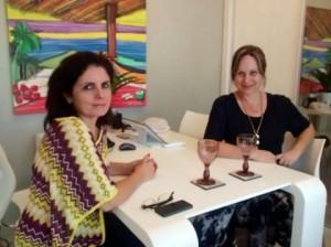 Visitas a PerSolutio: Silvia Camargo e Viviane Martini