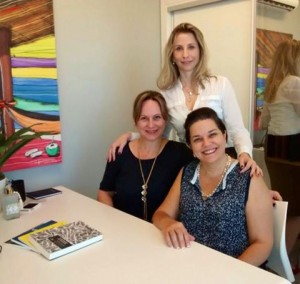 Visitas a PerSolutio: Viviane Martini, Paula Martucci e Denise de Francesco