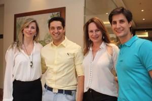 Paula Martucci, Ed Mendes (cerimonialista), Viviane Martini e Flávio Moreno (cerimonialista)