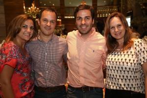 Cristine Bovi, Gabriel Figueiredo e Fabrício Frezza com Viviane Martini da PerSolutio