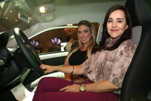 As premiadas Renata Bittencourt e Adriana Junqueira Zein